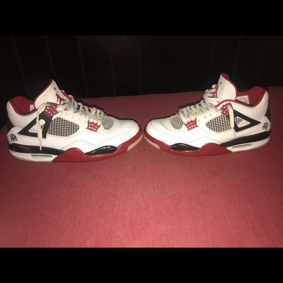 3c4e7889882 Jordan 4 retro Fire red Mars Blackmon